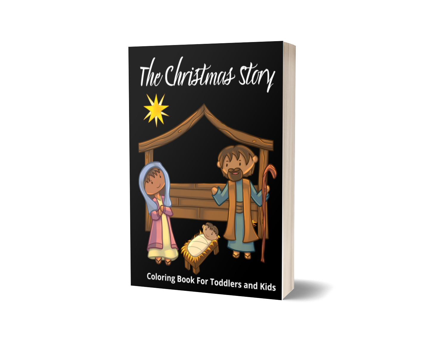 The Christmas Story Colouring Book
