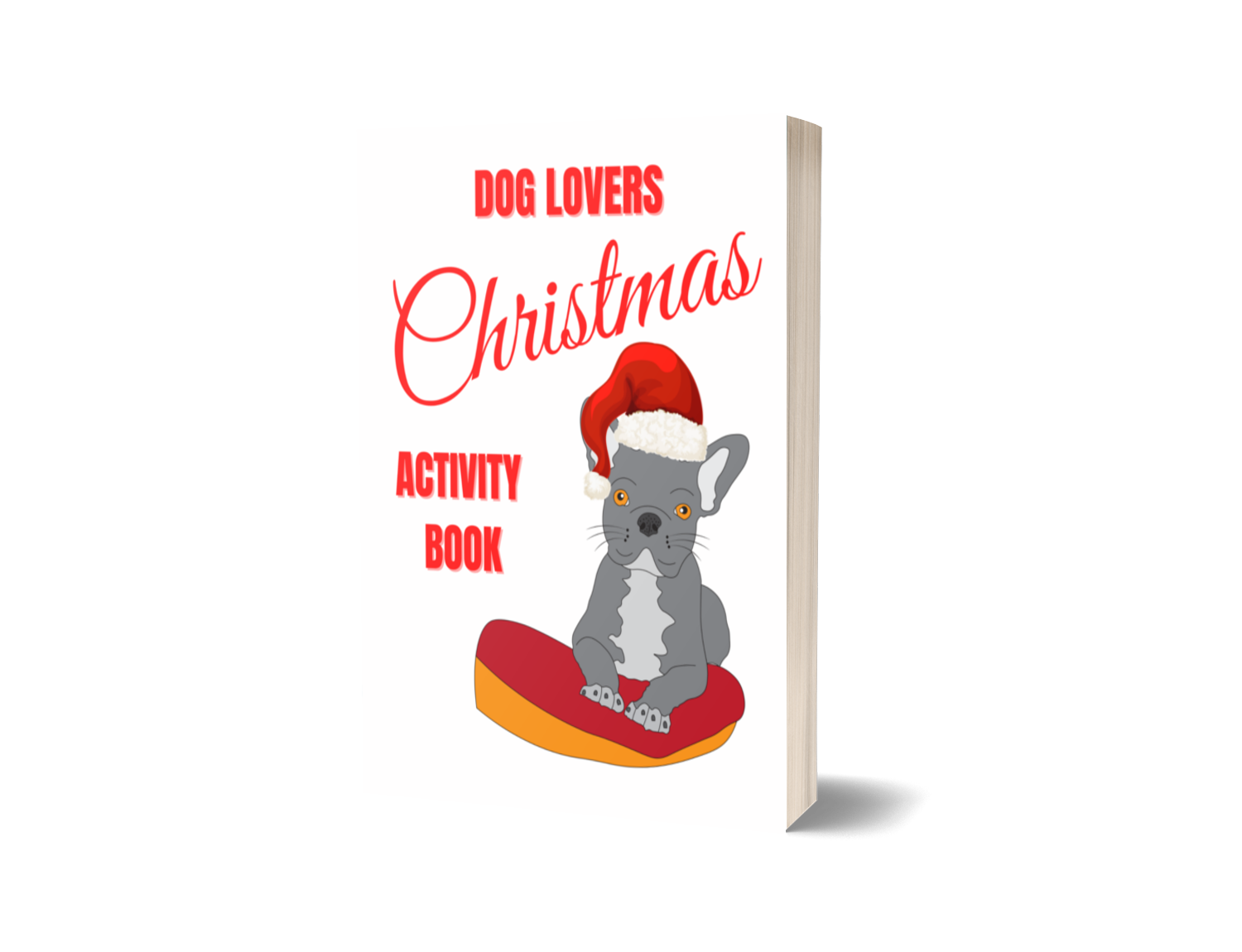 Dog Lovers Christmas Activity Book