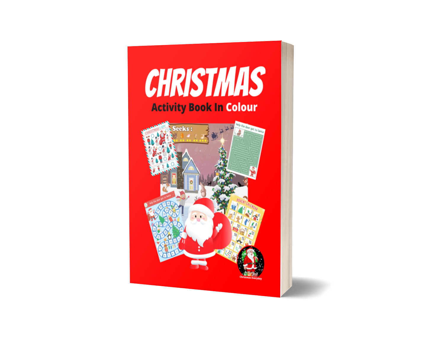 hristmas Activity Book In Colour